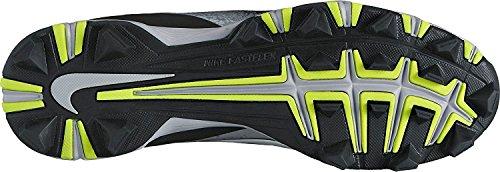 Nike Mens Vapore Ultrafly Keystone Bacchetta Da Baseball Nero / Bianco / Grigio Lupo / Grigio Freddo