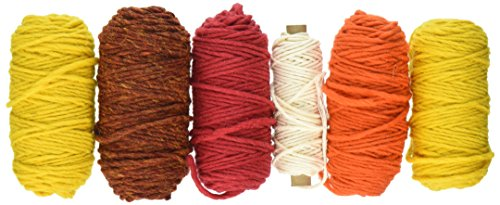 Peg Loom Harrisville (Harrisville Designs pegLoom & LapLoom Yarn Refill Pack - Sunset)