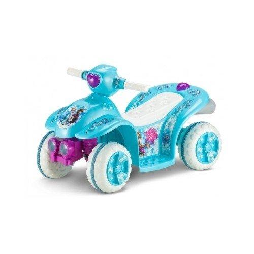 Disney Frozen Power Wheels Ride On Quad Bike 4 Wheeler Toddl