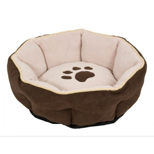 Aspen Pet Sculptured Round Bed (18 ) Assorted colors by Doskocil