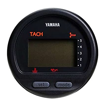 amazon com yamaha outboard oem multi function gauge tach tachometer yamaha outboard digital tach gauges yamaha outboard oem multi function gauge tach tachometer 6y5 8350t 83 00