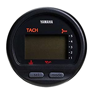 amazon com yamaha outboard oem multi function gauge tach yamaha outboard oem multi function gauge tach tachometer 6y5 8350t 83 00