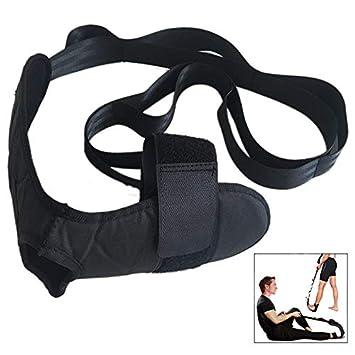 iwobi Correa de Estiramiento de Yoga, Fitness Yoga Correa, Tobillo Ligamentos Banda con múltiples Grip Loops, para Entrenamiento de flexibilidad ...