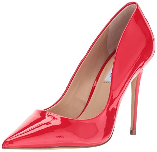 Steve Madden Women's Daisie Dress Pump, red Patent, 7 M US ()