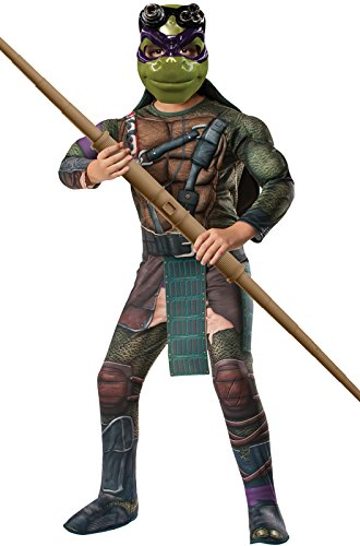 Rubie's Costume Men's Teenage Mutant Ninja Turtles Movie Deluxe Adult Muscle Chest Donatello, Multicolor, Standard