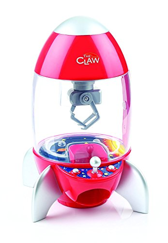 Etna Products TT The Rocket Ship Claw Toy Grabber Machine with Multi-Color Light Display and Arcade Carnival Sounds (Rocket Story Toy Ship)