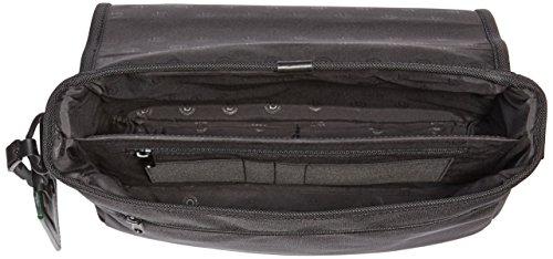 Bugatti Bags Uni Messenger Bag, Querformat Toronto, schwarz, 33.5x22.5x10.5, 49414101 Schwarz