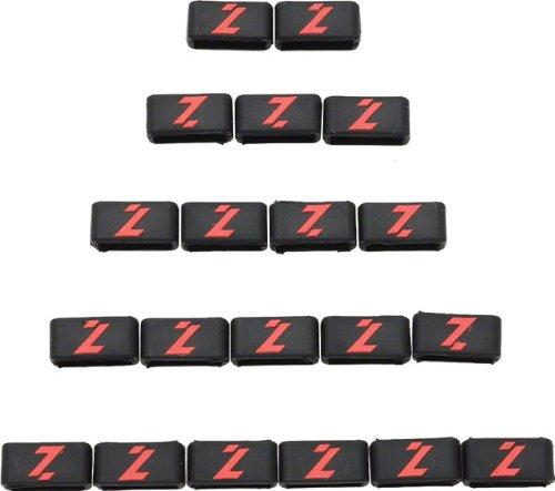 Lazer Logo Strap Band Retention Rings, Bag of 20