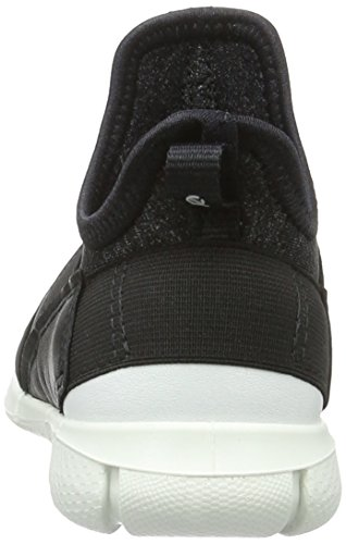 Ecco Jungen Intrinsic Sneaker Low-Top Schwarz (54610black/black-white)