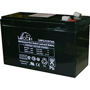 Batería de plomo 12 V 7 Ah Leoch DJW12-7 151x65x94 mm