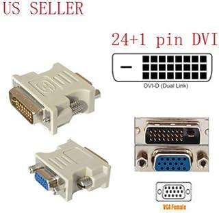 amazon com fyl dvi d digital dual link male 24 1 to vga 15-pin vga cable wiring diagram dvi d to vga wiring diagram #10