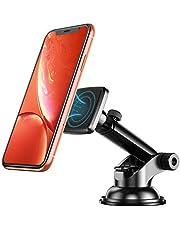 Cocoda Handyhalterung Auto, Magnet Universal Handyhalter mit Klebrigem Saugnapf und Teleskoparm für Armaturenbrett/Windschutzscheibe, 360°drehbare KFZ Halterung für Smartphone iPhone XS/X Samsung S10