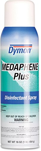 ITW Dymon 35720 Medaphene Plus Disinfectant Spray, Spray, 16 Oz, 12/carton Dymon Medaphene Plus Disinfectant