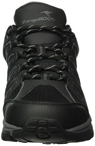 De Botar Chaussures gris Kangaroos Noir Foncé Plein Noir Airclassiques Homme 522 M daq7wgt