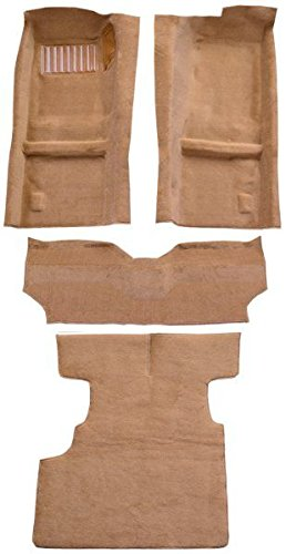 1979 to 1983 Datsun 280ZX Carpet Custom Molded Replacement Kit, 2 Seater, Complete Kit (825-Maroon Plush Cut Pile)