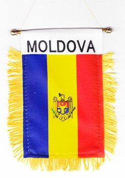 Moldova - Window Hanging Flags