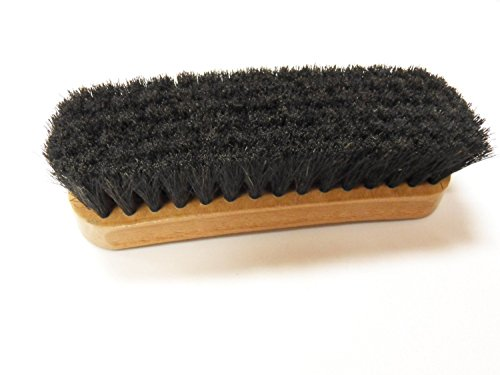 - STAR JR Professional Boot/Shoe Shine/Buff Brush - 100% Horsehair 6-3/4