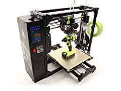 The new LulzBot TAZ Pro is an industrial desktop 3D printer that provides large, multi-material and soluble support printing with LulzBot's award-winning reliability. Create large functional prototypes, manufacturing aids, and print-on-demand...