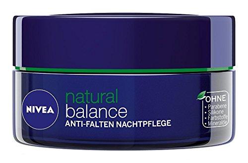 Nivea Visage Pure Natural Anti-Wrinkle Night Care Skin Cream 1.7oz. 50ml