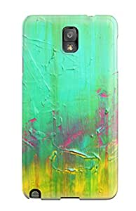 (AHn-3612nwqRoMIF)durable Protection Case Cover For Galaxy Note 3(abstract Painting )
