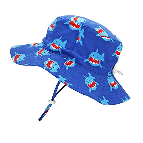 Toddler Kid Baby Girl Boy Bucket Sun Hat Adjustable for Growth-UPF 50 Protection Outdoors Summer Cap