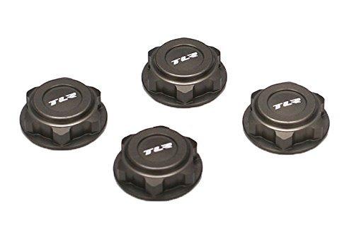 Team Losi Covered 17mm Wheel Nuts Alum: 8B/8T 2.0 -