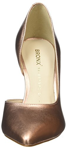Pumps Pink Bronx geschlossenem Zehen 1245 mit Womens Bx Rosegold Bcotex qOx4IOSw