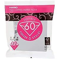 V60 Coffee Paper filter 02 white 100