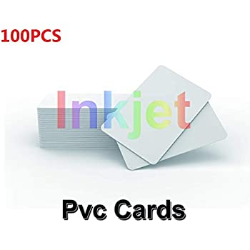 Amazon.com: Inyección de tinta PVC ID Card Starter Kit ...
