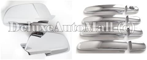 For Chevy Malibu 2008-2012 Chrome Full Mirror Covers 4 Door handle Covers