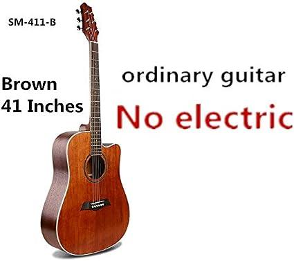 Guitarra de cuerpo en D de 41 pulgadas, 6 cuerdas, guitarra ...
