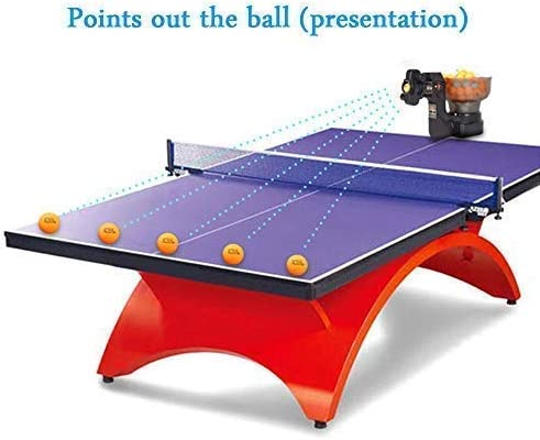 CHAOFAN 36 Spins Ping Pong Ball Machine
