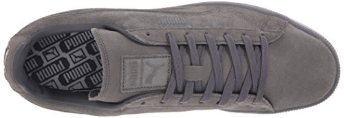 PUMA Men's Suede Emboss Iced Fashion Sneakers, Dark Shadow, 9 D US Photo #5