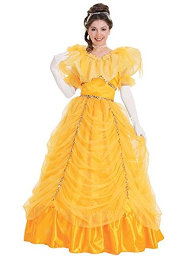 Gold Beauty Costume for (Gaston Beauty Beast Halloween Costume)
