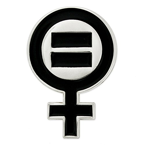 discount PinMart's Venus Symbol Women's Equal Rights Feminism Lapel Pin for sale