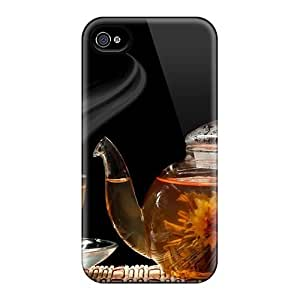 New Arrival Diy For Touch 4 Case Cover Food Drinks Herbal Tea