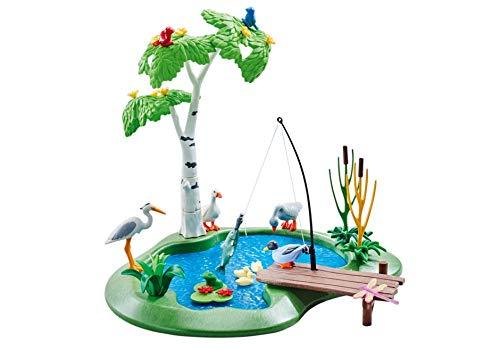 Playmobil 6574 Fishing Pond (Foil -