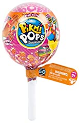 Pikmi Pops are the big lollipops filled with cute mini-plush and so many sweet surprises for you! Each Pikmi Pop Surprise Pack comes with 2 scented mini-plush, 4 surprise items, 2 surprise messages, 3 dangler strings, 1 collector's guide and ...