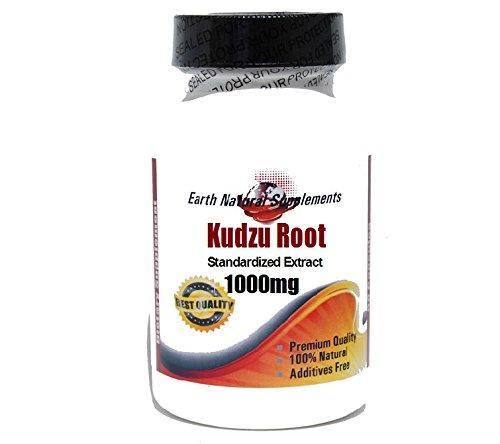 Кудзу Root стандартизированный экстракт 1000 мг * 100 Caps 100% натуральный - на EarhNaturalSupplements