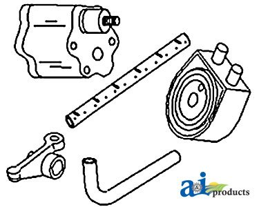 A&I Products Shaft, Rocker Arm Replacement for John Deere Part Number R123514 - Rocker Arm Part Number