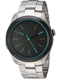 Swiss Quartz Stainless Steel Smart Watch, Color Silver-Toned (Model: 3660003)