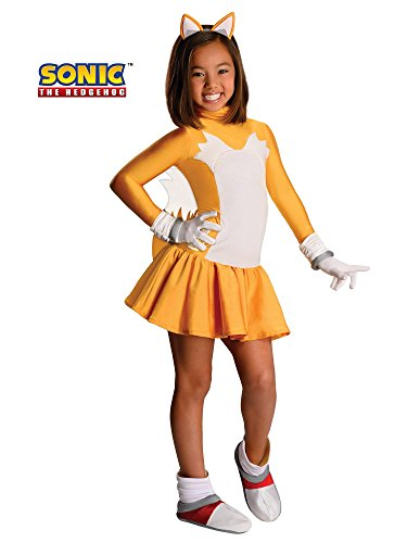 Sonic The Hedgehog Female Tails Costume, Medium -