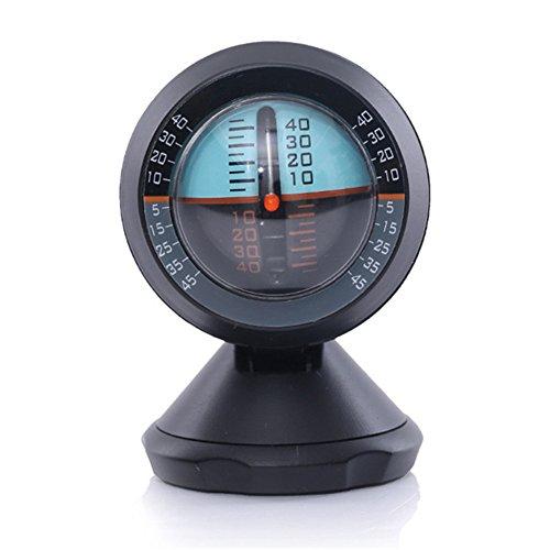 OWIKAR Car Inclinometer Angle Slope Tilt Indicator Level Meter Gradient Balancer Upgrade And Downgrade Slopemeter Finder Tool for Off-Road Vehicle And Self-Driving Travelling - Should Bifocals Sunglasses Be
