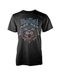 Miss May I T Shirt Fade Lion new Official Mens Black