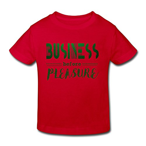 Vinda Yves Cotton Cozy Business Before Pleasure Toddler Girls Boys Shirts