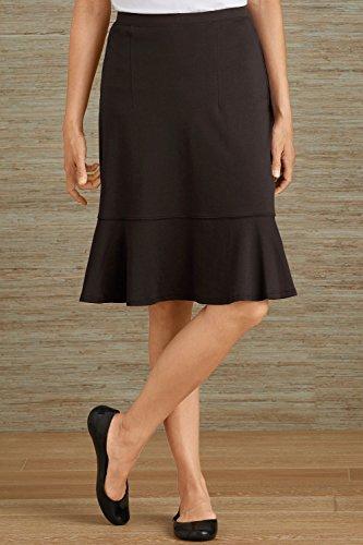 Fair Indigo Fair Trade Organic Ruffle Skirt