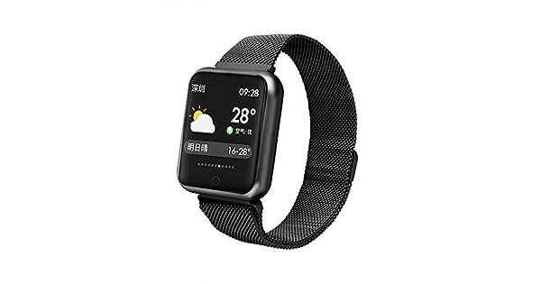 Amazon.com: FEDULK Reloj inteligente con frecuencia cardíaca ...