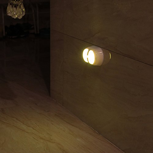 Illumilite Motion Sensor Activated Led Wall Sconce Night