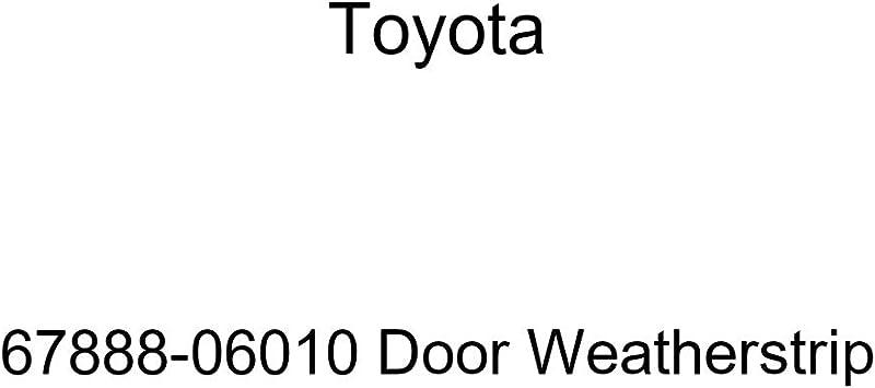 TOYOTA Genuine 67887-07010 Door Weatherstrip