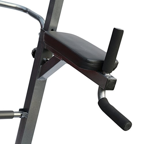 Kingpeony Heavy Duty Dip Station Power Tower Pull Push Chin Up Bar Home Gym Fitness